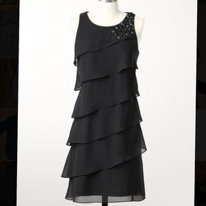 NWT Coldwater Creek Deco Tiered Dress